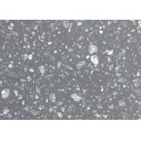 China Sparkle Black Galaxy Artificial Quartz Stone Countertops Slab Wall Floor Tiles on sale