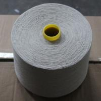 China Natural Color 55% Linen 45% Cotton Blended Yarn 30Ne for Weaving and Knitting on sale