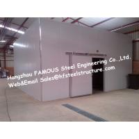 Cold Room Walk in Freezer And Walk in Cold Storage Made of Polyurethane Panel 1150mm Manufactures
