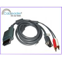 China Cableader Xbox 360 VGA Monitor Cables with Audio Output on sale