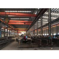 China Structural Steel Frame Building , Large Span Prefabricated Metal Workshop Building on sale