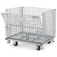 China Wire Mesh Container with Casters on sale