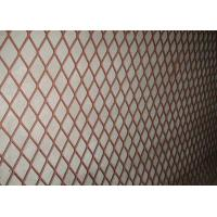 Heavy Duty Steel Expanded Metal Mesh Anti - Corrosive For Highway And Bridge Manufactures
