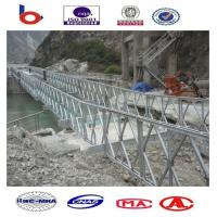Pin steel Bridge cantilever pushing bridge,portable bridge,temporary bridge,emergency road Manufactures