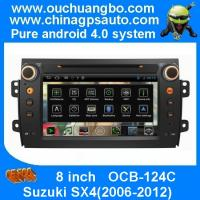 Ouchuangbo Android 4.0 Suzuki SX4 2006-2012 Auto Multimedia DVD Player Analog TV RDS 1080P Video S150 System OCB-124C Manufactures