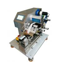 China Vertical out of the standard folding label machine desktop automatic wire labeling machine AT-6130 on sale