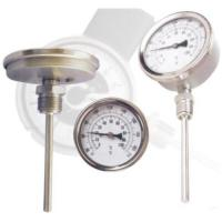 Buy cheap Bottom & Back Connection Bimetal thermometere from wholesalers