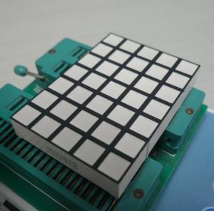 Square Dot Matrix Led Display , 5x7 Dot Matrix LED Running Display Manufactures