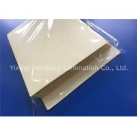 Licenses Sticky Back Laminating Film A4 Size Plastic Laminate Sheet Stain Resistant Manufactures