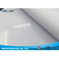 Glossy Solvent Frontlit PVC Flex Banner Material Canvas For Outdoor Light Boxes Manufactures