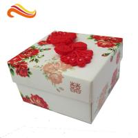 Personalized Wedding Paper Gift Packaging Boxes Rectangle for Festival Manufactures