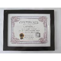 8, 5x11Black MDF Certificate Frame Manufactures