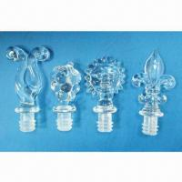 Set of 4-piece Acrylic Wine Stopper Manufactures