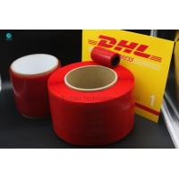China 2mm 4mm Red BOPP Tear Strip Tape For Envelope Food Candy Bag Sealing on sale