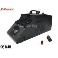 110 - 130v Single Wheel Stage Fog Machine , 8m Output Distance Manufactures