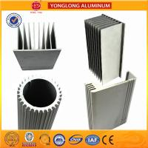 Sound Insulation Aluminum Heatsink Extrusion Profiles Better Stiffness Manufactures