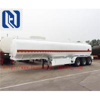 3 Axle SINOTRUK Bulk Cement Tank Trailer Truck With 55-65CBM Weichai Engine And Bohai Air Compressor Manufactures