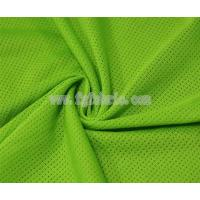 China Sport shirt fabric|100% Polyester dri-fit mesh fabric MF-073 on sale