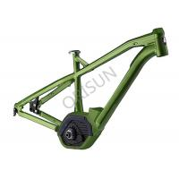 27.5  Inch Green Aluminum Electric Bike Frame XC Hardtail Full Suspension Manufactures