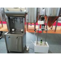 50Hz SUS304 Automatic Glass Bottle Filling Machine For Beer / Beverage Manufactures