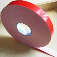 Two sided adhesive tape coated strong acrylic glue with PE foam backing material Manufactures