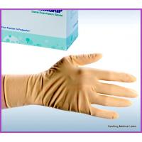 China latex gloves powder free disposable medical on sale