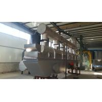 Gas Heating Vibro Fluid Bed Dryer Food Grade Stainless Steel Low Maintenance Manufactures