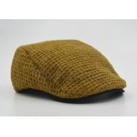 Customized Ladies / Women Peaked Duckbill Hat Ginger With Cotton Lining 56 cm Manufactures