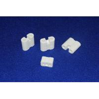 High Temp Wear Resistant White Steatite Ceramic Component / Part HRA ≥75 Manufactures