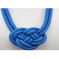 fashion national Style Punk handwork weaving Chinese knot rope charm necklace Manufactures