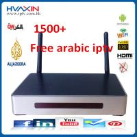 China Arabic iptv box with1500+ channels no subscription on sale