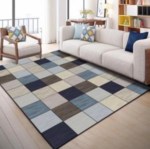 China Living room center carpet sofa carpets rugs rectangular coffee table area rug bedroom tatami bedside floor mat on sale