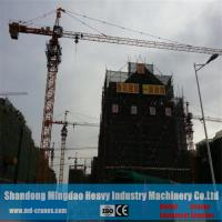 Qtz40 Model Fixed Type Topless Self Erecting Tower Crane for City House Building Manufactures
