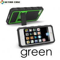 Custom Mobile Phone Hybrid Stand Case Skin, TPU Cell Phone Case for Iphone 5 Manufactures