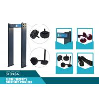 Factory Inspection 200 Sensitivity Archway Metal Detector , 4 Zone Walk Through Security Scanners Manufactures