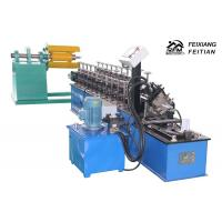 Light Steel Keel Roll Forming Machine , Rain Gutter Machine With CNC Control