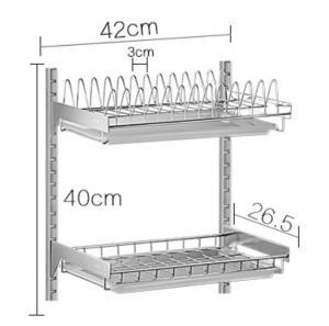 Wall Mounted Kitchen Storage Baskets, Free Move Kitchen Corner Wire Baskets Manufactures