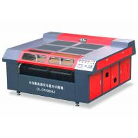 Automatic Shoes Laser Cutting Machine , 300W CO2 CNC Laser Engraver For Soft Material