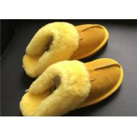 LADIES SHEEPSKIN LUXURY MULE SLIPPERS lamsbwool-lined slipper mule with sheepskin Manufactures