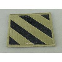 USA Air Force Clothes Lapel Patches , Iron Glue Patches For Military Manufactures