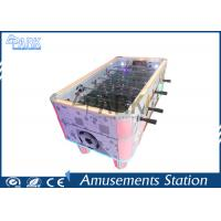 China Luxury Coin Operated Soccer Ball Simulation Indoor Soccer Arcade Machine Electric Football  Table on sale