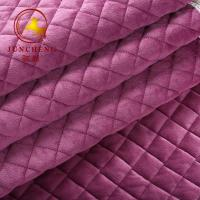 2018 new arrival high quality quilted velvet fabric for sofa and sofa cover for sale of hnjc tex com. Black Bedroom Furniture Sets. Home Design Ideas