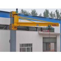 Movable Wall Mounted Jib Crane With Hoist Remote Control 3 Phase 380V 50hz Manufactures