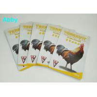 Kraft Paper Food Vacuum Seal Bags , Three Side Seal Pouch For Poultry Food Packaging Manufactures