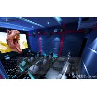 Blue Color 5D Cinema Equipment, Indoor / Outdoor Playground Equipment Manufactures