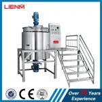 500L, 1000L Industrial Chemical Liquid Mixer Machine Detergent Agitator Production Equipment Industrial Cosmetic Liquid Manufactures