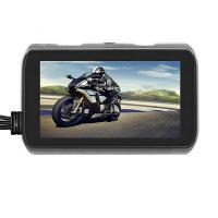 720P Motorcycle Dashcam Recorder dual lens dvr camera with remote controller Manufactures