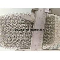 China Custom Knitted Wire Mesh Tube / Tape Gasket For EMI / RFI Cable Shielding on sale