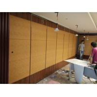 China Hotel Banquet Hall Soundproof Room Divider Sliding Folding Partition Operable MDF Wall Ceiling Track Color Customizable on sale