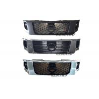 China ABS Plastic Chrome Grille Guard Front , Custom Mesh Grills For Nissan Navara NP300 for sale